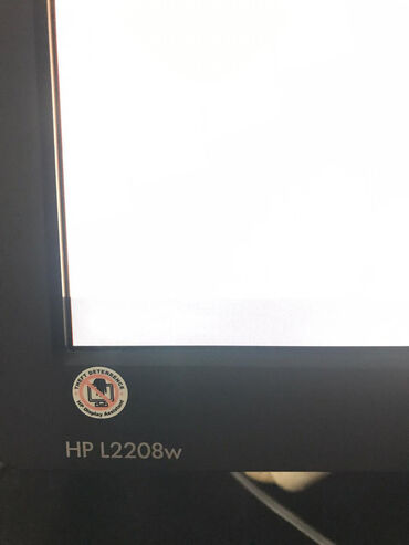 aro 24 21 td - Azərbaycan: HP L2208w | 22 Inc | Geniş Ekran LCD Monitor|Şəkillərindən Görüldüyü
