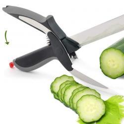 Makaze - Srbija: Clever Cutter makaze i nož 2 u 1Najbolje sredstvo za sečenje voća