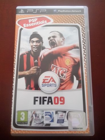 FIFA 09 for PSP UMD with Manual σε North & East Suburbs