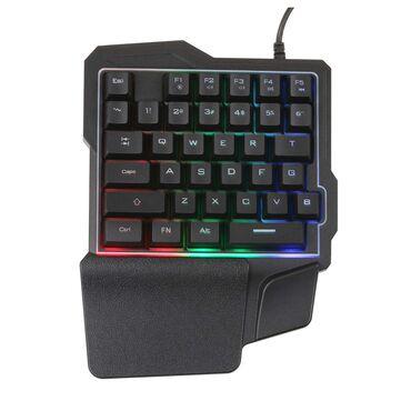 Desktop i PC | Srbija: Tastatura svetleca za jednu ruku Gejmerska mini tastatura za jednu ruk