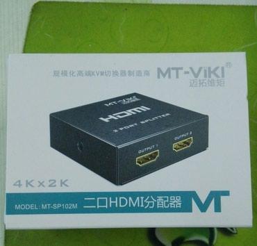 HDMI splitter 2port.  Новый.  в Бишкек