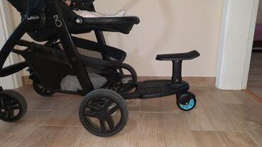 Kolica za decu - Srbija: Dodatak za kolica, korišćen par puta. sve u dobrom stanju, ispravno