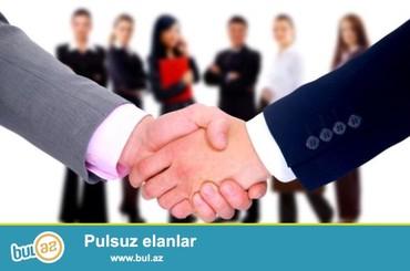 Bakı şəhərində Satış meneceri