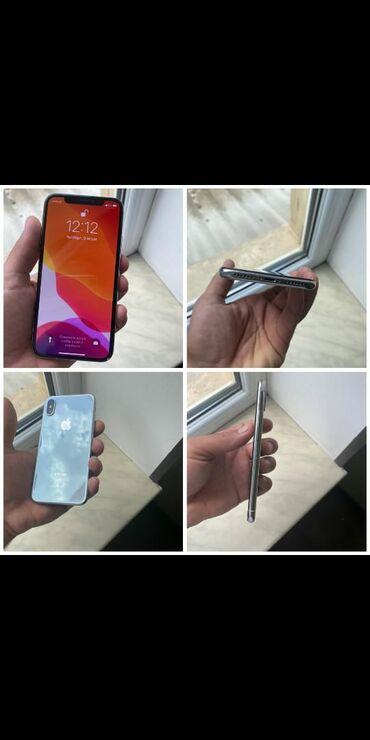 Iphone X satilir. Karopka yoxdu. Nausnik adaptor var. Ag rengdi. 64 gb