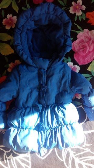 Ovs zimska jaknica Prelepa, kraljevsko plava, nosena kratko prosle - Belgrade