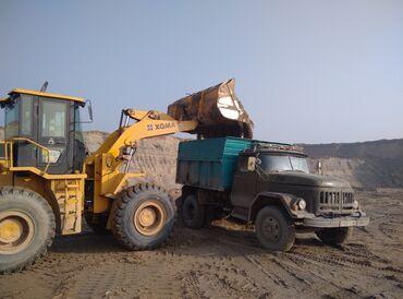 Песок,отсев. ЗИЛ с нарощенными бортами. Грузоподъёмность 9 тонн