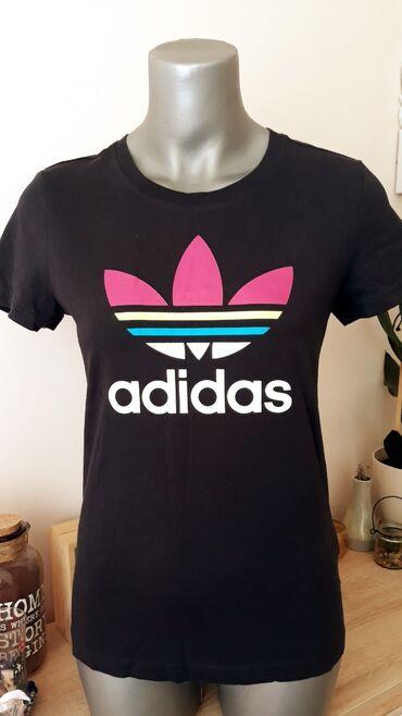Adidas kupaci - Kraljevo: ADIDAS teget majica vel.38 PamukPrelepa majica,  nemacka vel.38
