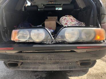 продаю бмв в Кыргызстан: Продаю Фары на BMW X5 e53, оригинал. Все крепежи на месте, продаю в св