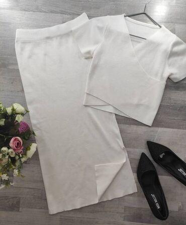 Распродажа! Комплект всего за 500 сомТолько в белом цвете!Размер