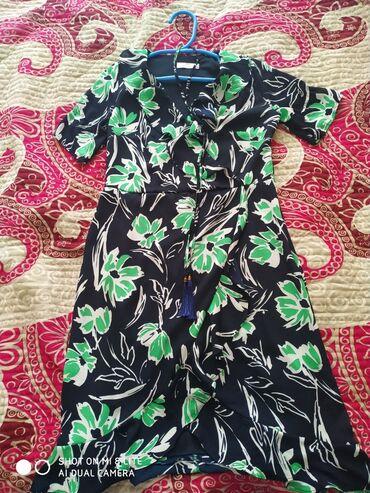 турецкое платье шифон в Кыргызстан: Продаю яркое, шифоновое, летнее платье. Производство Турция. Размер