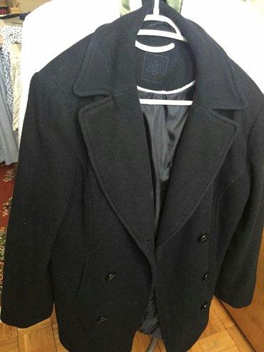 Crni kaput, broj 40. jako očuvan, samo 500din - Beograd