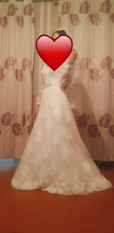 узбекский фасон платья в Кыргызстан: Свадебное платья можно и на прокат
