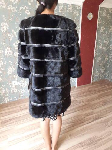 Личные вещи - Боконбаево: Норка шуба, размер 46,35000