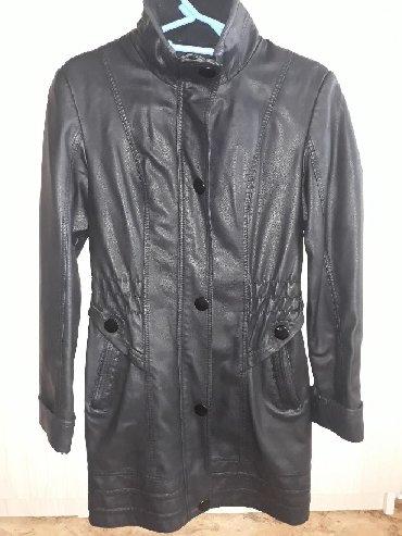 дубленка кожа в Кыргызстан: Куртка. Удлинённая. Из кож зама. Размер 42Была надета только несколько
