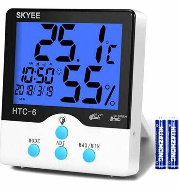 Termometr Termometr və nəmişlik ölçən Термометр Termometer HTC-6