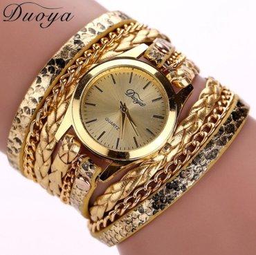 Ženski satovi narukvice Boje kao sa slike: crna, plava, braon, zlatna, - Nis - slika 3