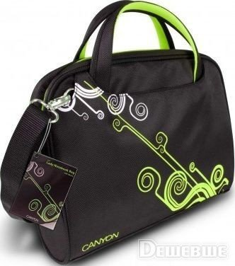 "Notebook bag 12"" canyon cnr-nb22g ladies black/green - 870с. Notebook в Бишкек"