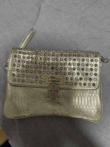Zlatna torbica, nosena 2 puta, kao nova
