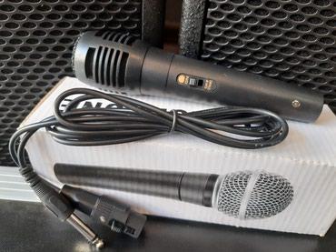 Bakı şəhərində Mikrofon sunurlu.Tezedir .Ev seraiti ucun karaoke meqsedli istifade