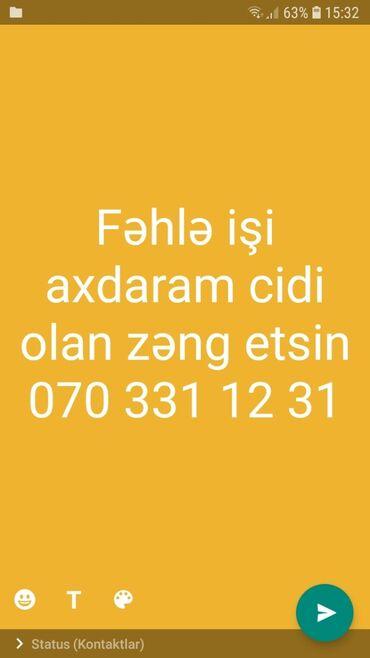 fehle isi elanlari 2019 - Azərbaycan: Salam təcili fəhlə işi axdaram cidi olan zeng etsin