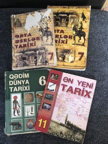 tarix kitablari - Azərbaycan: Tarix ders kitablari -Her biri 2 AZN - Sehifede diger daha cox ders ve