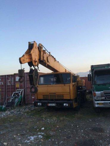 Автокран Кран г. п 20 тонн. Ниссан в Кок-Ой