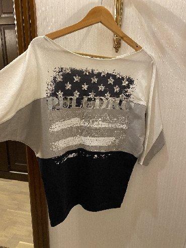 трикотажная рубашка в Кыргызстан: Стильная трикотажная брендовых кофточка! Пуледро! Размер С/М! Шикарная
