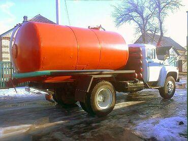 Ассенизатор (Гавновоз) ЗИЛ 130 откачка септик и туалет продувка