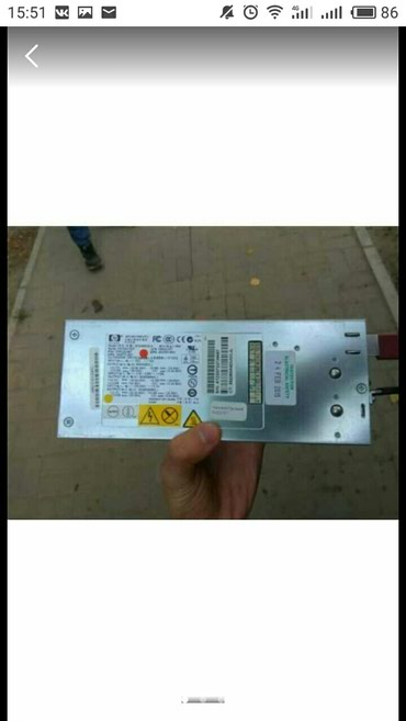 Срочно! HP DELTA DPS-800GB 1000Watt 12V/80А блок в Бишкек