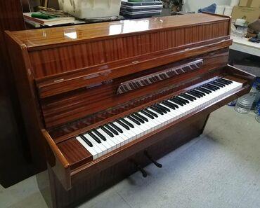 Музыкальные инструменты - Бишкек: Пианино HUPFELD (Германия) model CARMEN-2 педали-Настроено на 440 гц