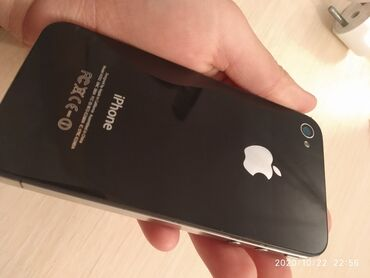 Б/У iPhone 4S 8 ГБ Черный