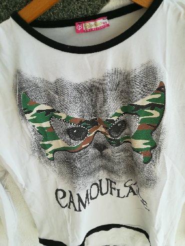 Ostala dečija odeća   Vranje: Prelepa dukserica za proleće vel 14, obim grudi 80 cm, dužina 47 cm