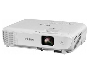 проекторы-с-usb в Кыргызстан: Проектор Epson EB-S05 (LCD, SVGA 800 x 600, 3200 lm,1 AV, HDMI, USB)