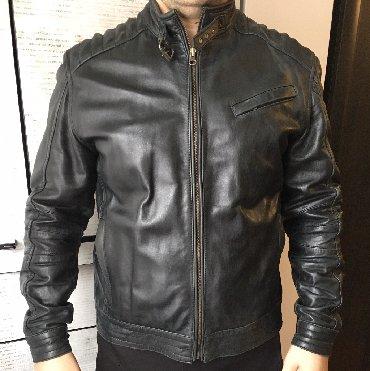 Продаю новую куртку из кожи пилотка произведено в индии бычья кожа