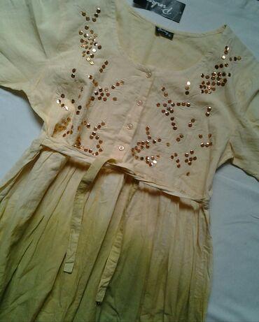 Merac pritiska - Sabac: SNIŽENOOO! ! !  NOVOOO! ! !  PINKY prelepa pamucna duga haljina