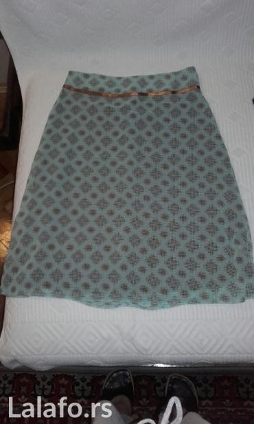 Suknja-svilena-broj - Srbija: Leprsava suknja broj 38,100% viskoza