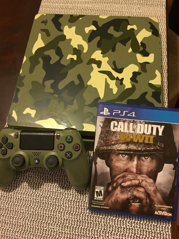 PlayStation 4 (PS4) Slim 1TB Limited Edition Console Call of Duty WWII σε Korinos