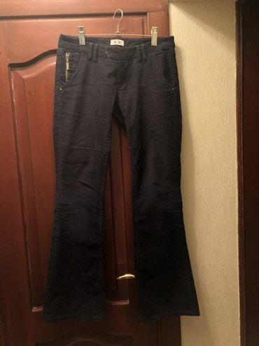Женские вельветовые расклешенные джинсы, на 42-44 размер в Бишкек
