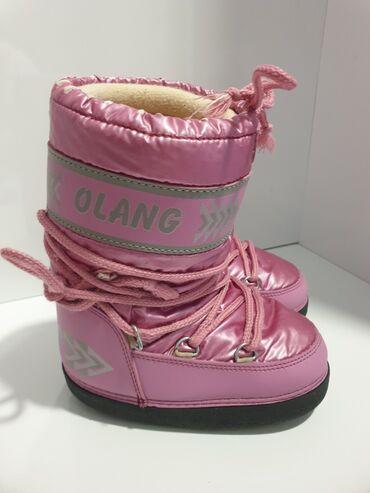 Olang čizme za sneg broj 29/30 dužina gazišta 19cm. Čizme su nosene