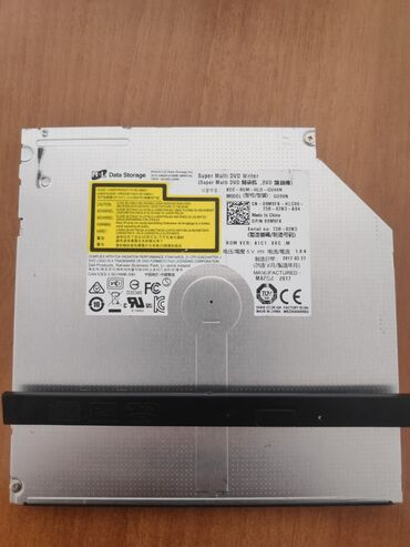 компьютеры за 5000 в Кыргызстан: DVD привод от ноутбука Dell Inspiron 15 Series 5000. Вставил вместо