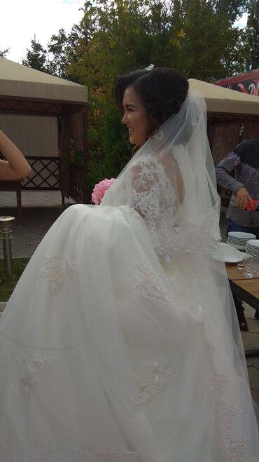 Платья - Теплоключенка: Продаётся свадебная платья.Состояние отличное одевала только один