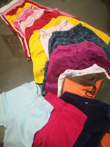 Dečija odeća i obuća - Vranje: Trenerke, pantalone 15 kom sve za 2000 din za uzrast 2-4 godina