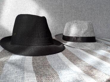 В г.Каракол продаю две шляпы, черная и серая. В отличном состоянии