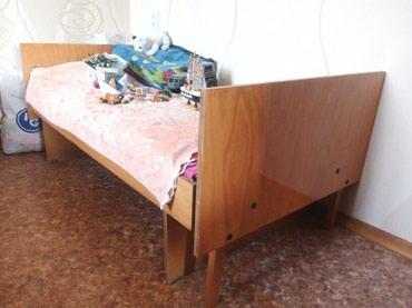 Деревянная кровать без матраца, раздвигается в длину. в Бишкек