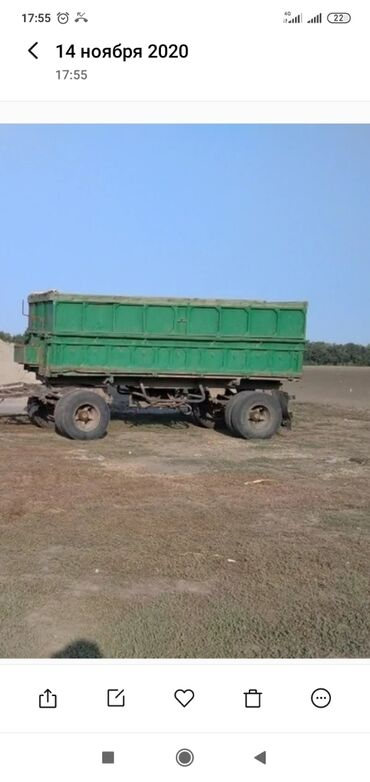 Купить камаз самосвал 65115 бу - Кыргызстан: Прицеп самосвал