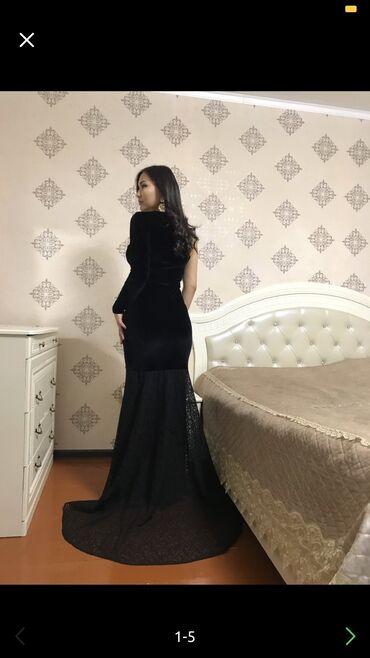 русалка в Кыргызстан: Роскошное вечернее платье,русалка,ткань королевский бархат