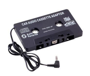 Kaseta adapterIz kasete izlazi audio kabl koji možete prikljuciti na