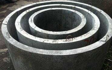 бетонные кольца для септика в Кыргызстан: Кольца бетонный для септика и туалета