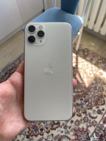 айфон 11 цена в оше in Кыргызстан | APPLE IPHONE: IPhone 11 Pro | 64 ГБ | Белый Б/У | Face ID