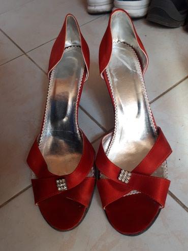 Elegantne satenske sandale 39 br. u perfektnom stanju! Vidi se na - Jagodina